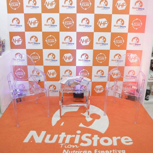 Backdrop - Nutrition Store Paralela