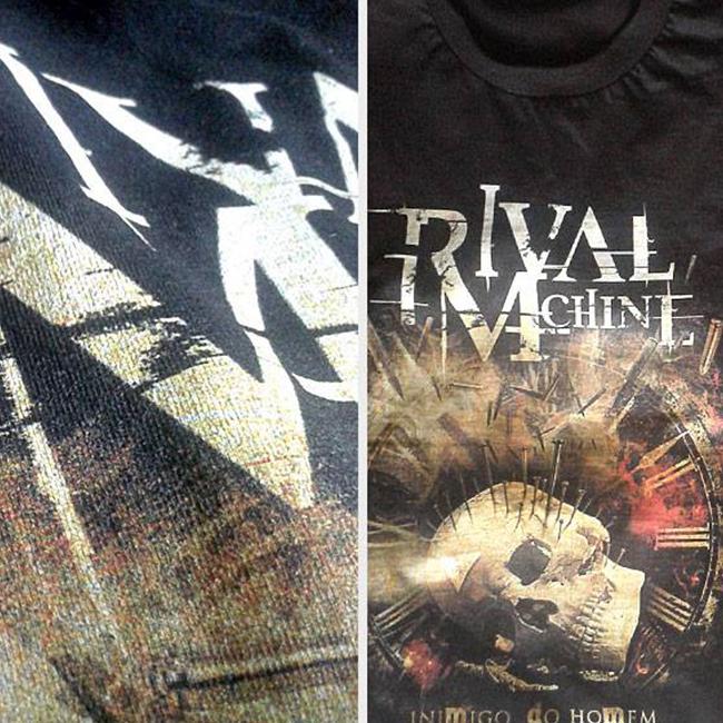 Camiseta - Rival Machine